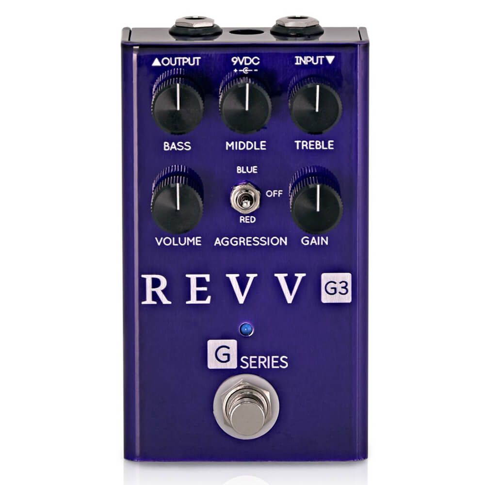 Revv G3 Distortion FX Pedal