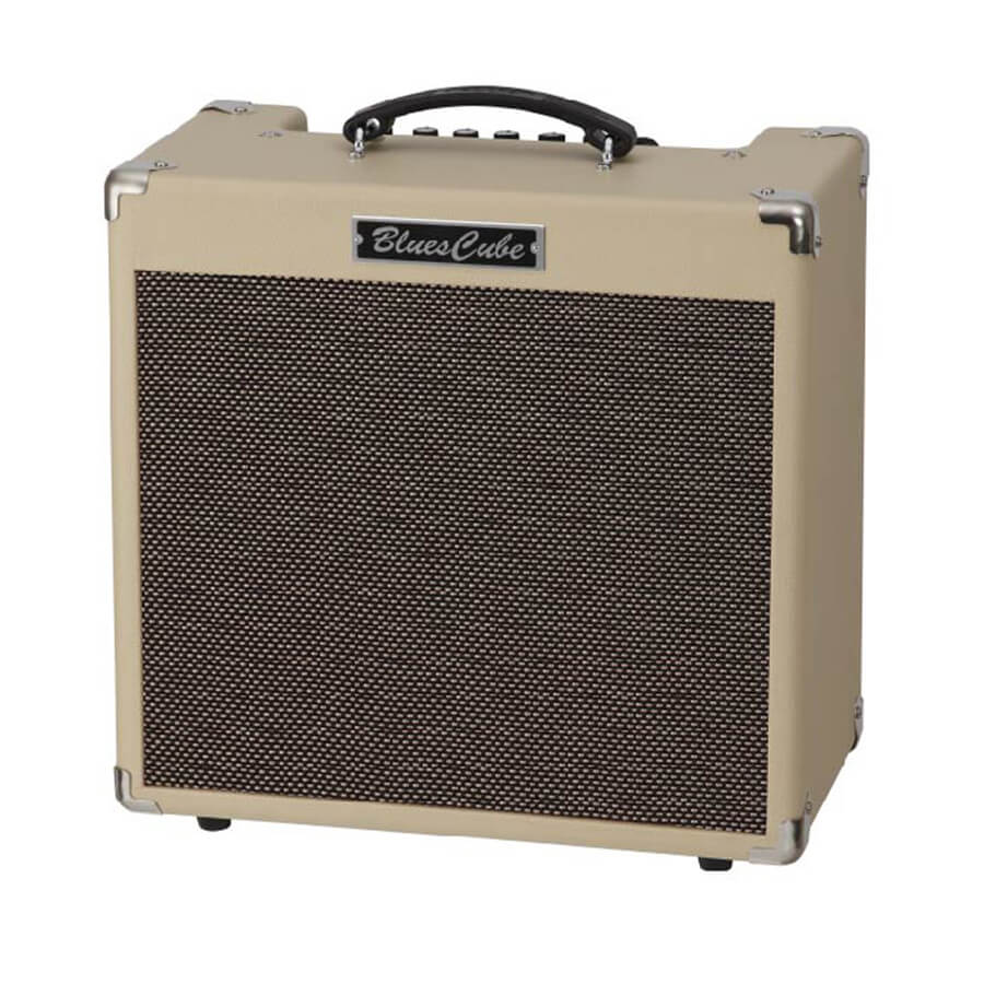 roland blues cube hot amplifier vintage blond rich tone music. Black Bedroom Furniture Sets. Home Design Ideas