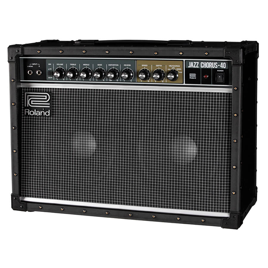 roland jc 40 jazz chorus guitar amplifier rich tone music. Black Bedroom Furniture Sets. Home Design Ideas