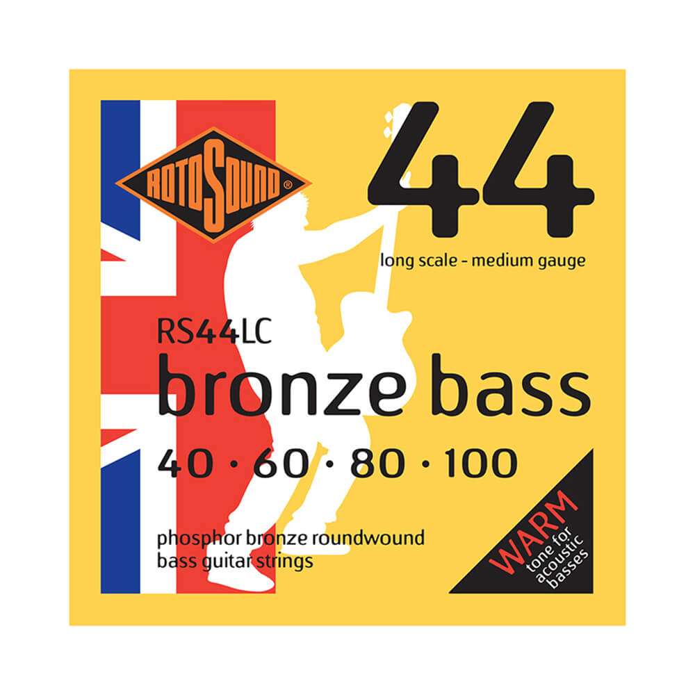 Rotosound RS44LC Acoustic Bronze Bass 44 Strings, Long Scale, 40-100