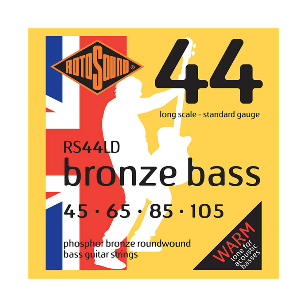 Rotosound RS44LD Acoustic Bronze Bass 44 Strings, Long Scale, 45-105