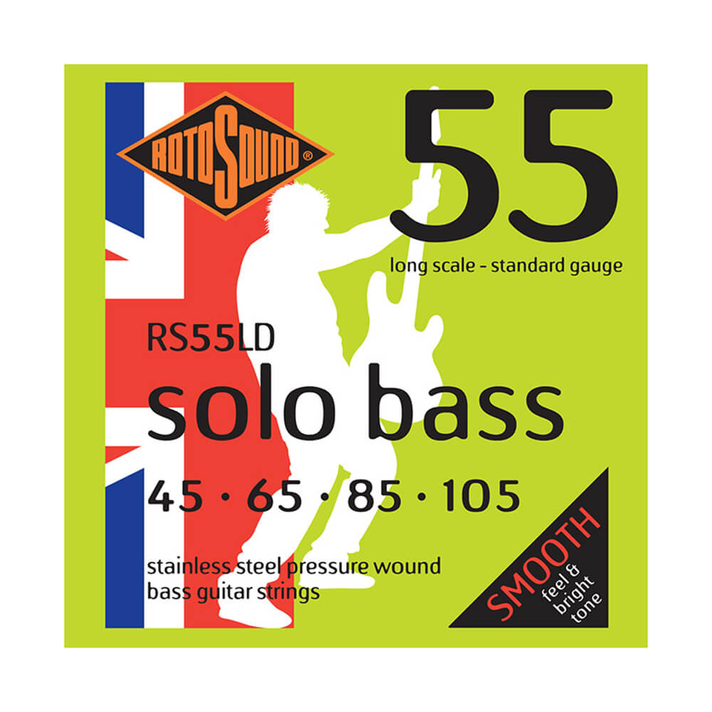 Rotosound RS55LD Solo Bass 55 Strings, Long Scale, 45-105
