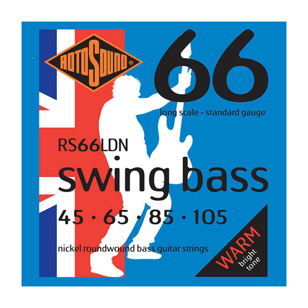 Rotosound RS66LDN Swing Bass 66 4-Strings, Nickel, 45-105