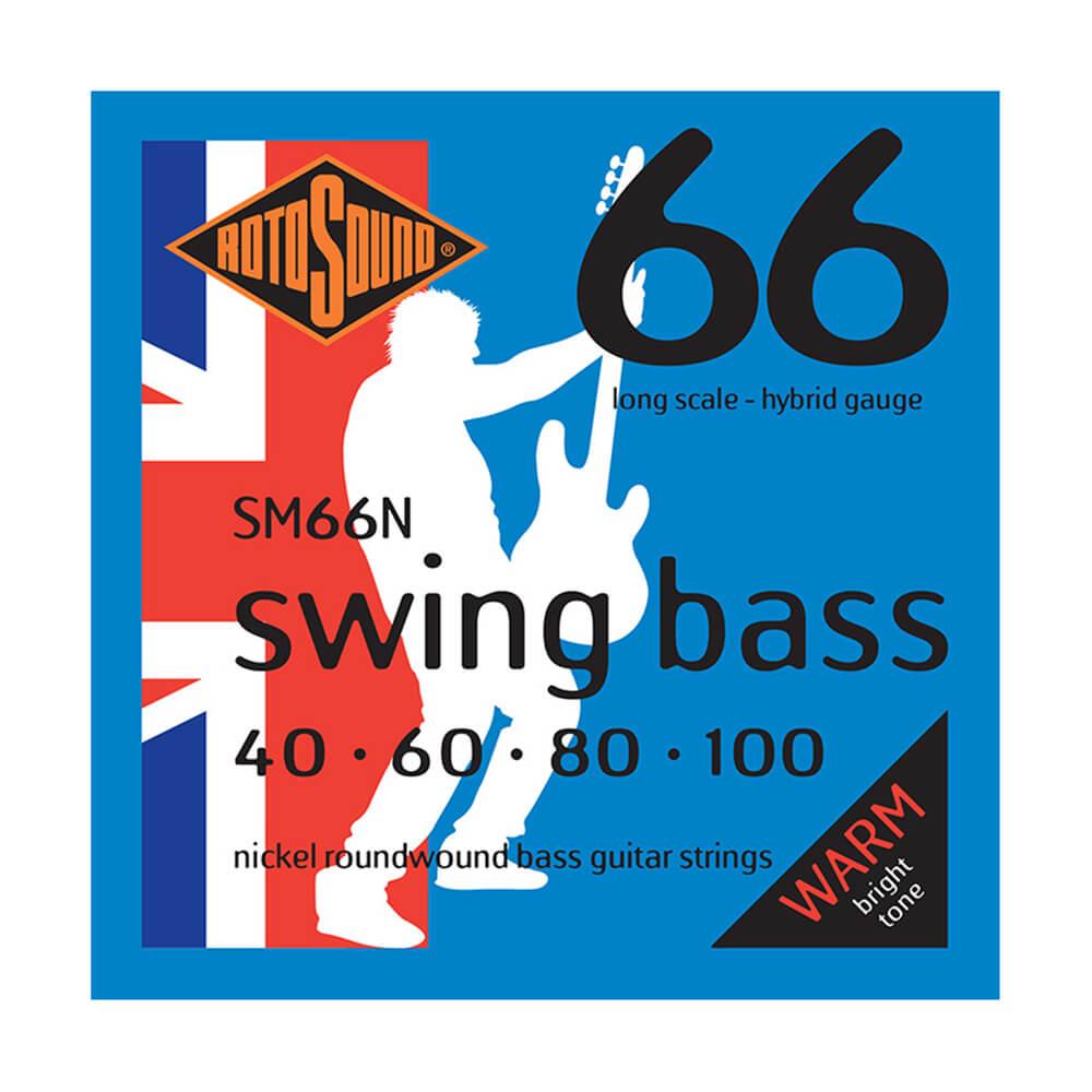 Rotosound SM66N Swing Bass 66 4-Strings, Nickel, 40-100