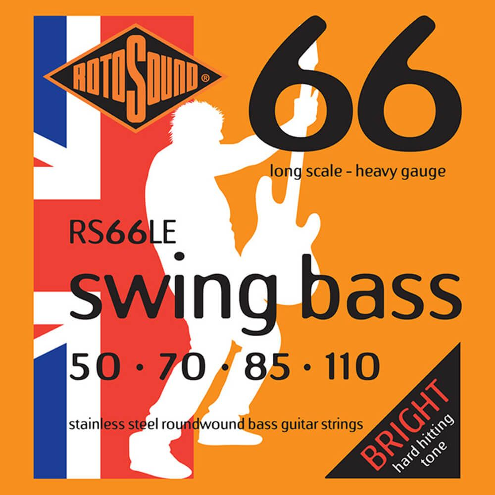 Rotosound RS66LE Swing Bass 66 , Stainless Steel, 50-110
