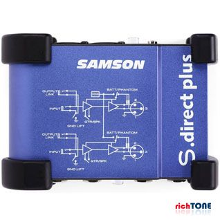 Samson S Direct Plus Stereo Direct Box