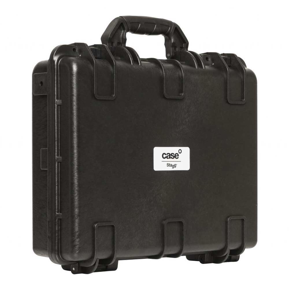 Stagg 45x34x12cm Glass Fibre Reinforced Plastic Resin Universal Transport Case