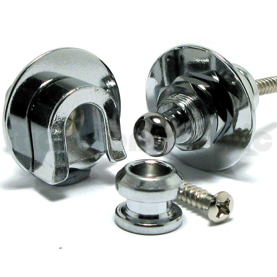 Schaller 5446 Chrome Strap Lock
