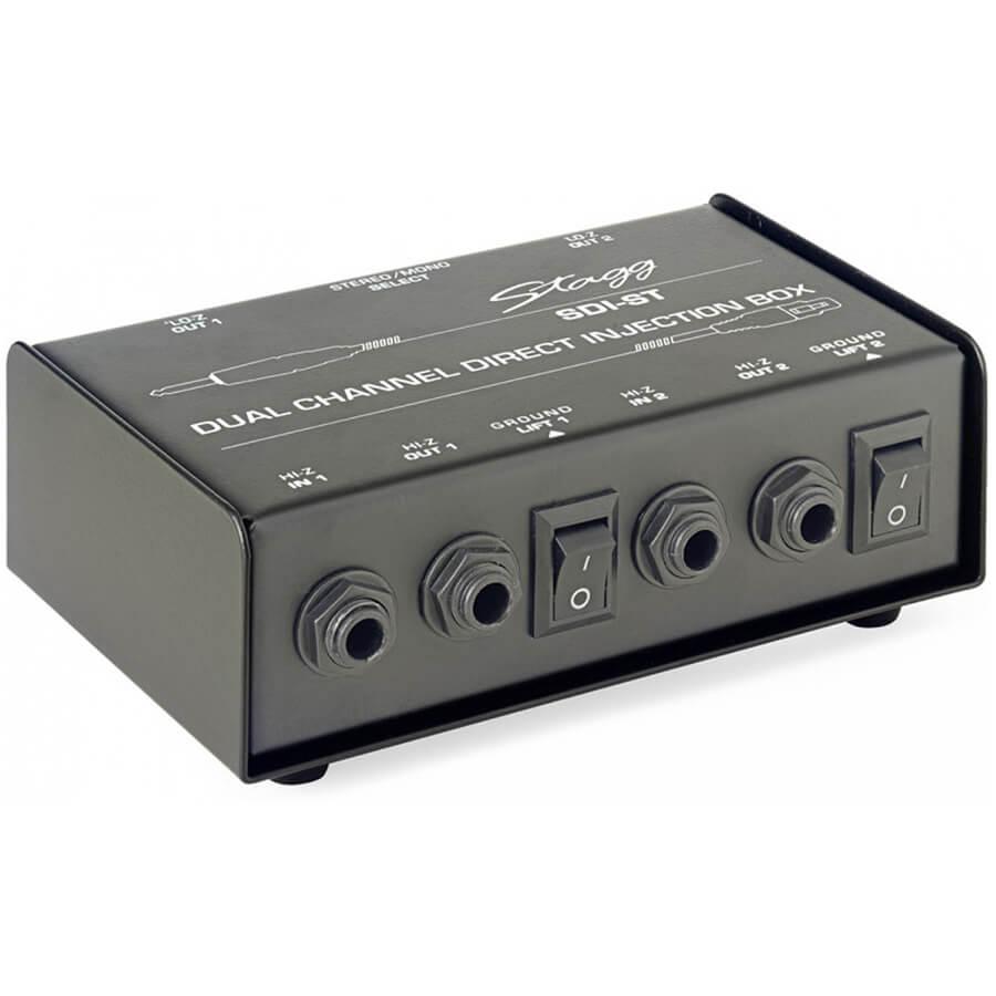 Stagg SDI-ST 2-Channel Passive Di Box