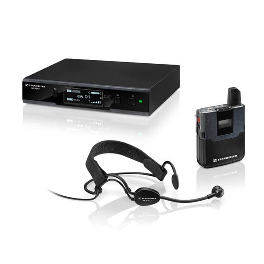 Sennheiser EW D1-ME 3 Wireless Headset Microphone System