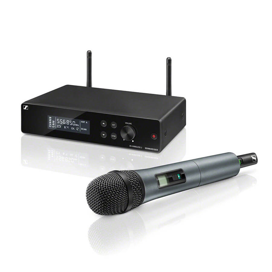 Sennheiser XSW 2-865 Wireless Microphone System, GB-Band