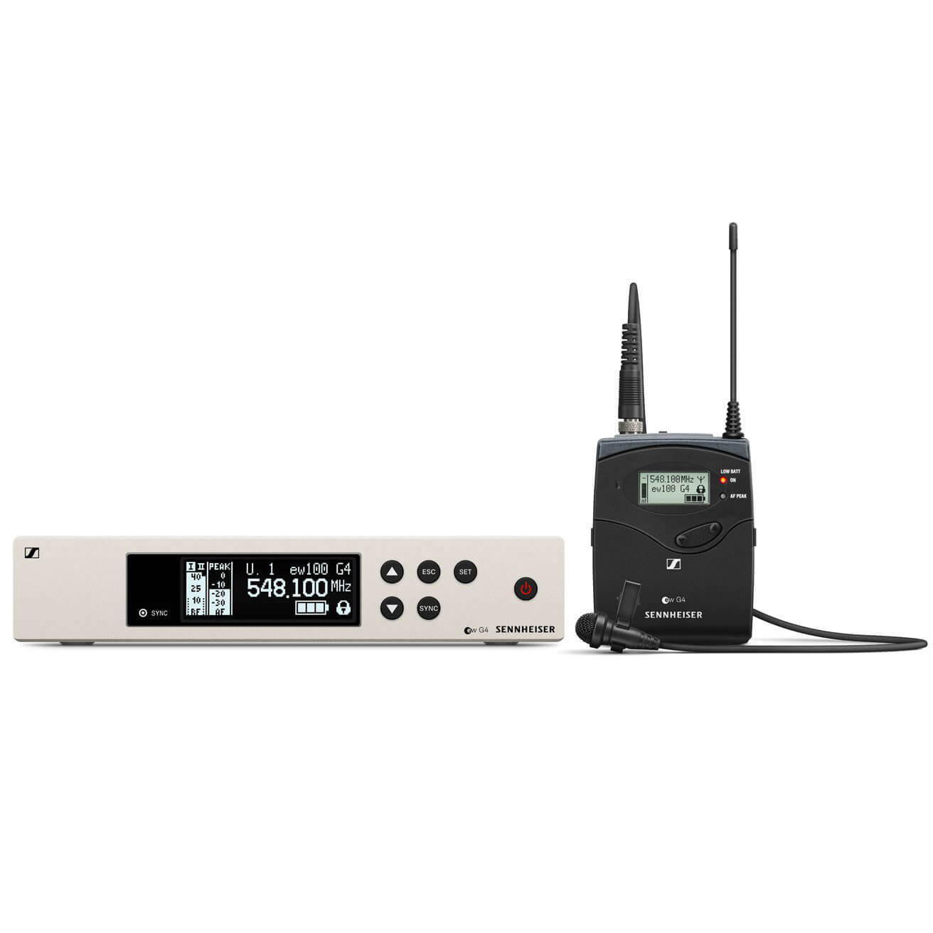 Sennheiser EW 100 G4 Wireless Microphone System with ME4, Ch38