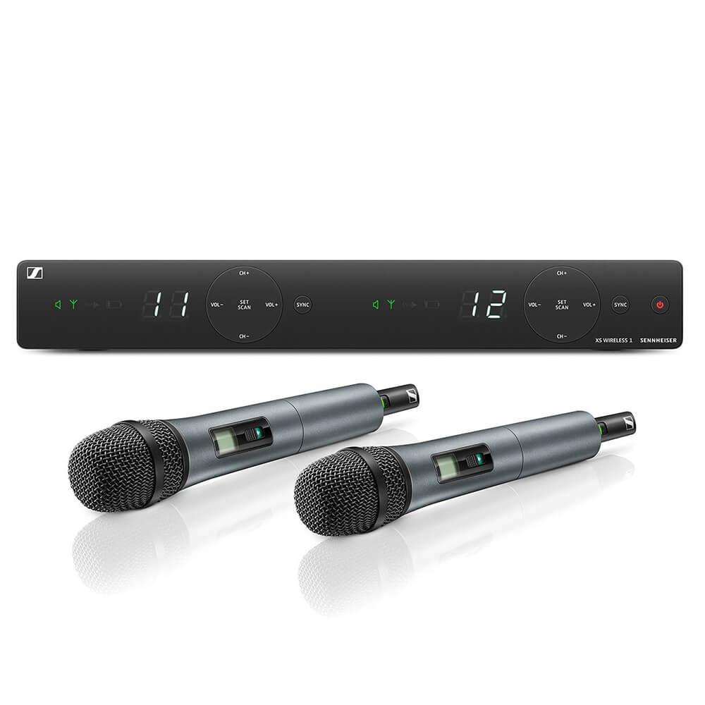 Sennheiser XSW 1-835 Dual-A 2-Channel Wireless Microphone System