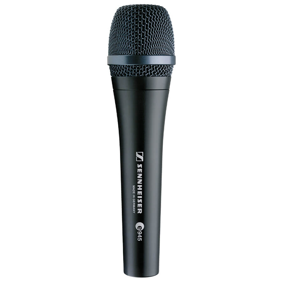 sennheiser e 945 dynamic super cardiod vocal microphone rich tone music. Black Bedroom Furniture Sets. Home Design Ideas
