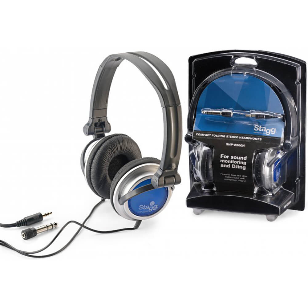 Stagg SHP-2200H Compact Folding Dynamic Stereo Headphones