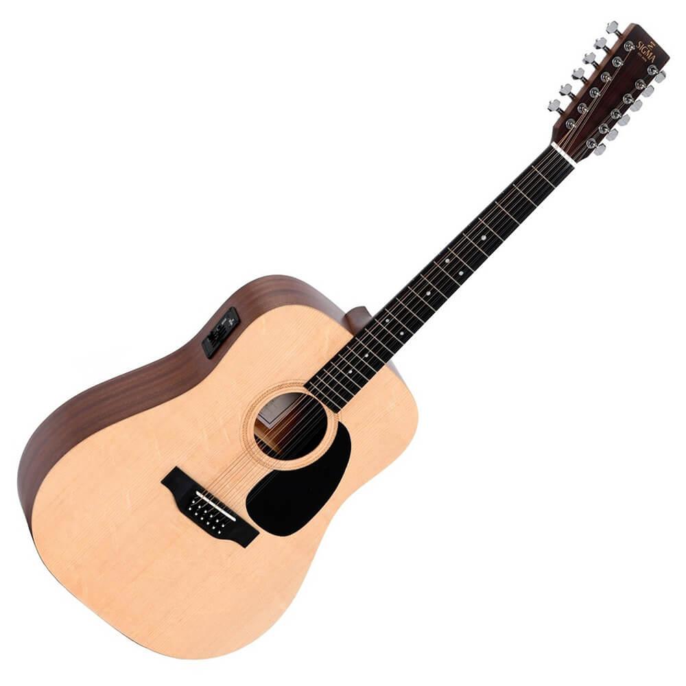 Sigma SE Series DM12E+ 12-String Electro-Acoustic Guitar