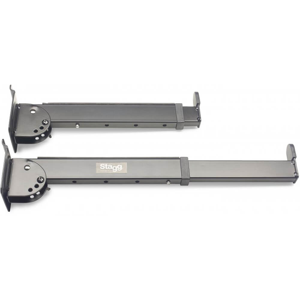Stagg SLA-LAY3 Telescopic Keyboard Display Arms For Slat Wall Mounting
