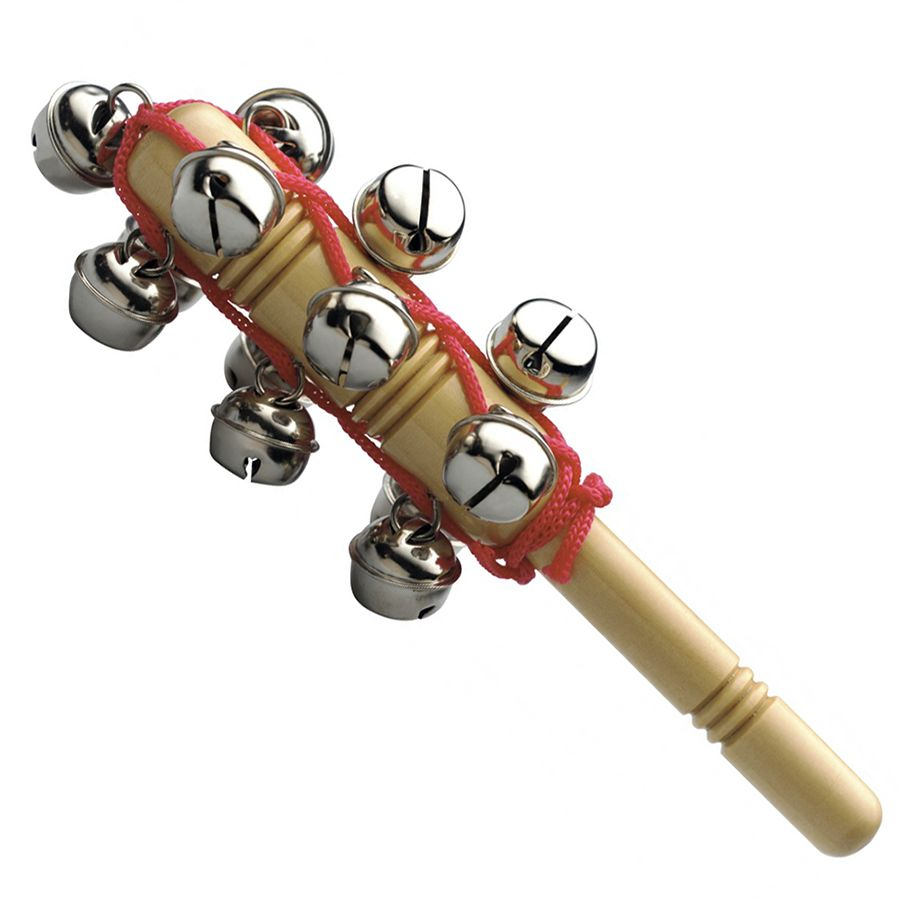 Stagg SLBM-13T Set Of Sleigh Bells On A Stick - 13 Bells