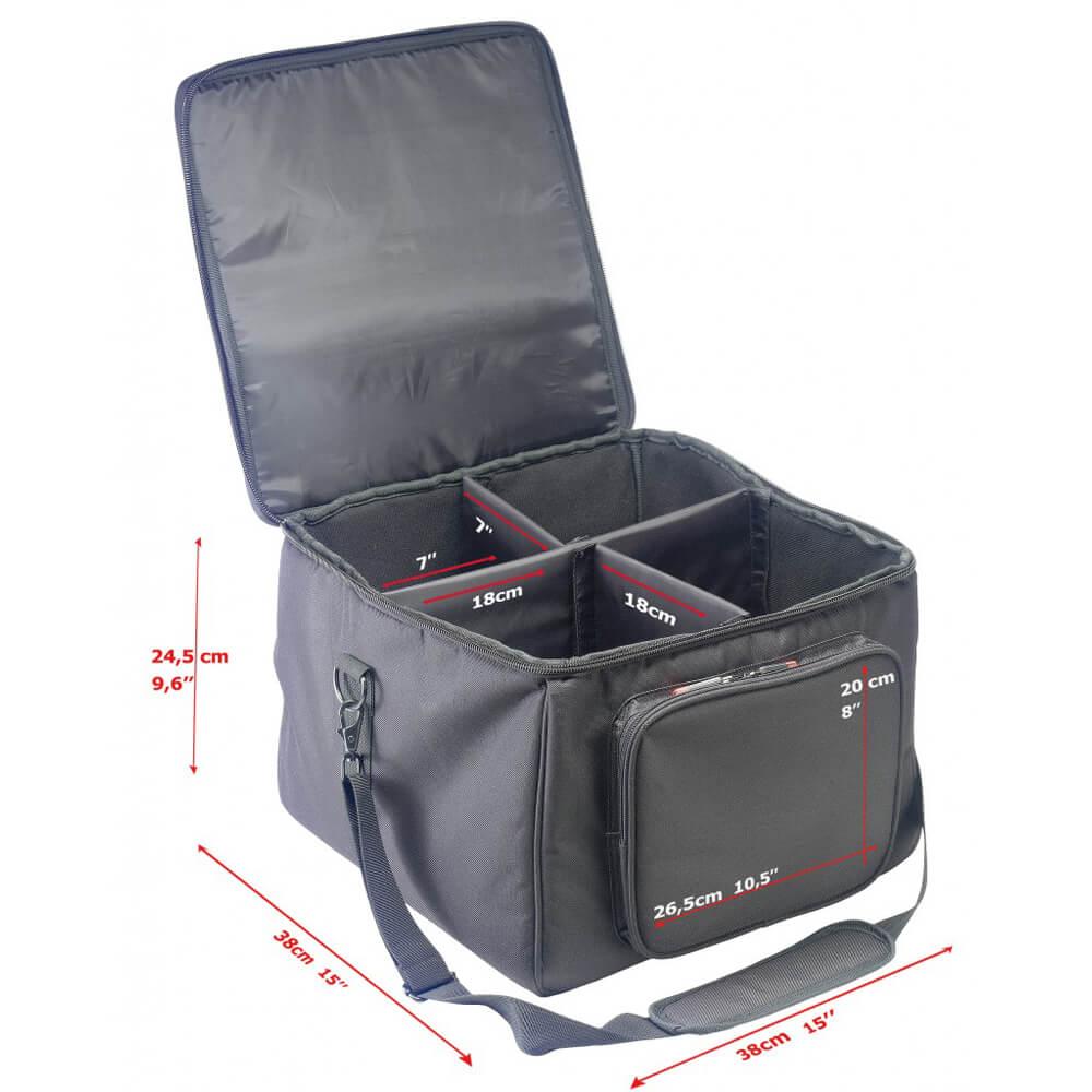 Stagg SLI-TB-4 Reinforced Transport Bag For 4 Led Lights