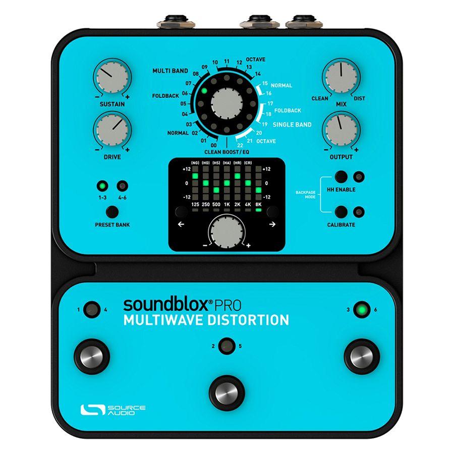 Source Audio Soundblox Pro Multiwave Distortion FX Pedal