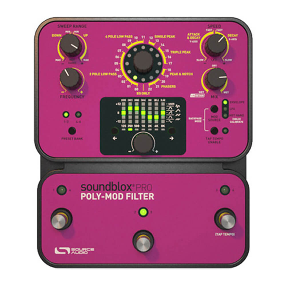 Source Audio Soundblox Pro Poly-Mod Filter FX Pedal