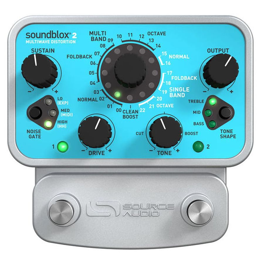 Source Audio Soundblox 2 Multiwave Distortion FX Pedal