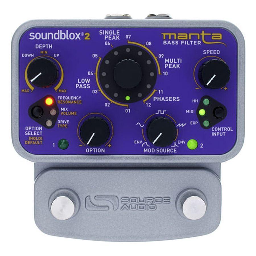 Source Audio Soundblox 2 Manta Bass Filter FX Pedal