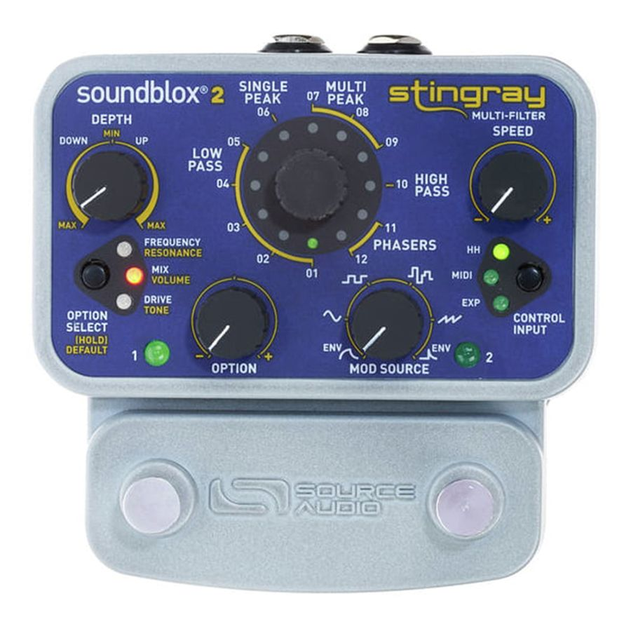 Source Audio Soundblox 2 Stingray Guitar Filter FX Pedal