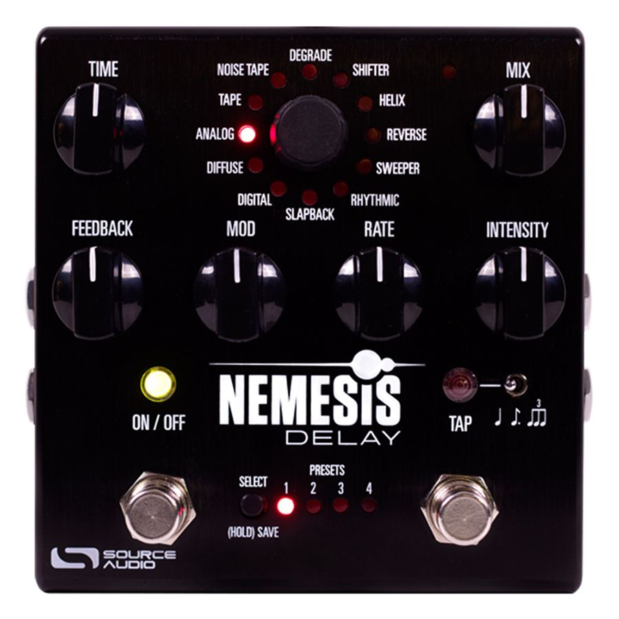 Source Audio Nemesis Delay FX Pedal