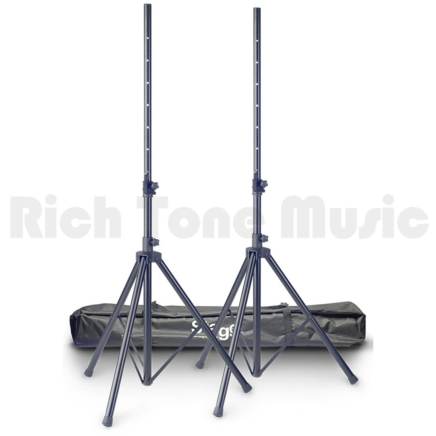 Stagg SPS10-AL BK SET Aluminium Speaker Stands With Bag