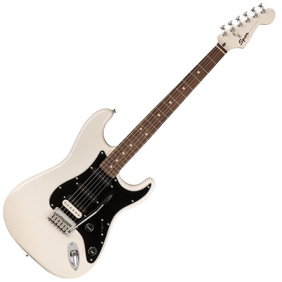squier contemporary stratocaster hss rw pearl white rich tone music. Black Bedroom Furniture Sets. Home Design Ideas