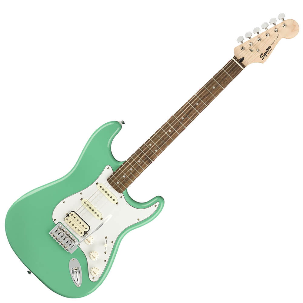 Squier FSR Bullet Stratocaster HSS - LRL - Seafoam Green