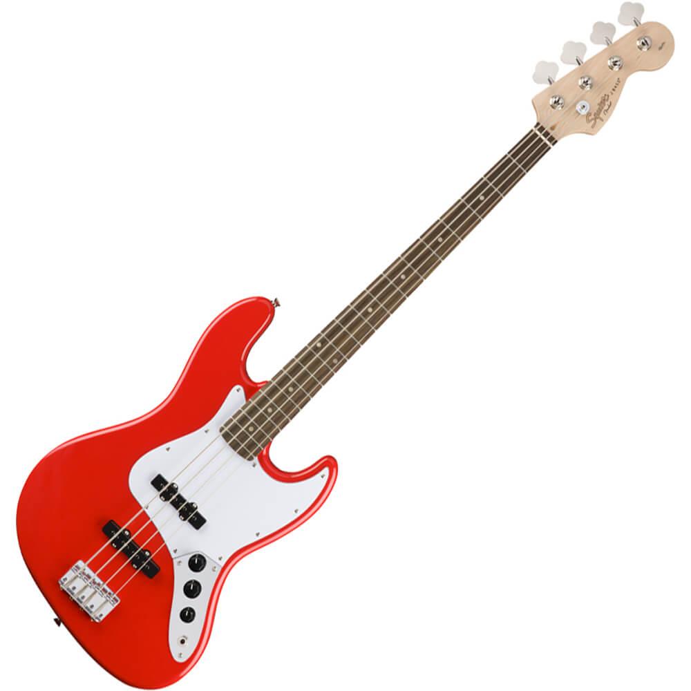 Squier Affinity Series Jazz Bass - Laurel - Race Red