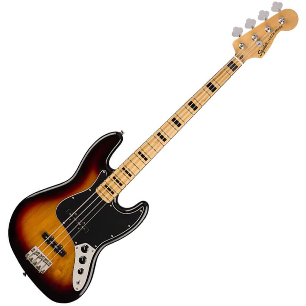 Squier Classic Vibe 70s Jazz Bass - MN - 3-Colour Sunburst