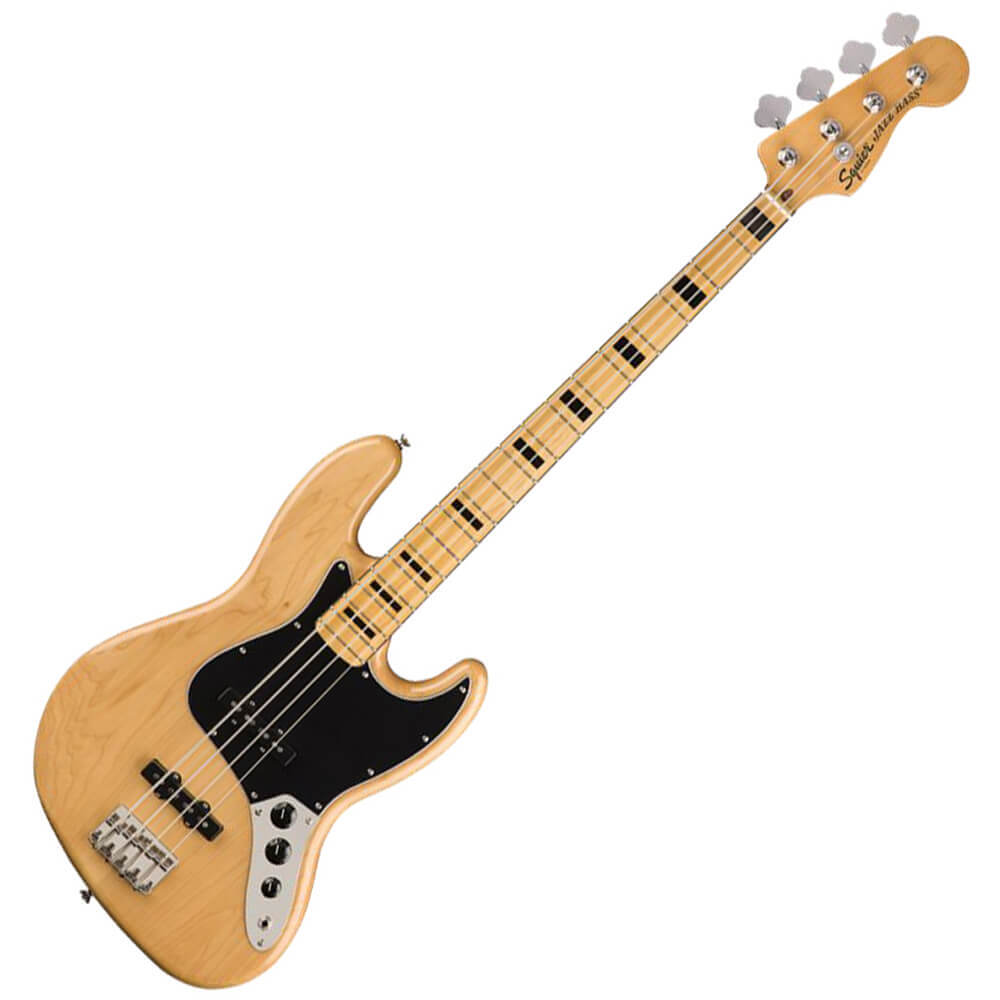Squier Classic Vibe 70s Jazz Bass - MN - Natural