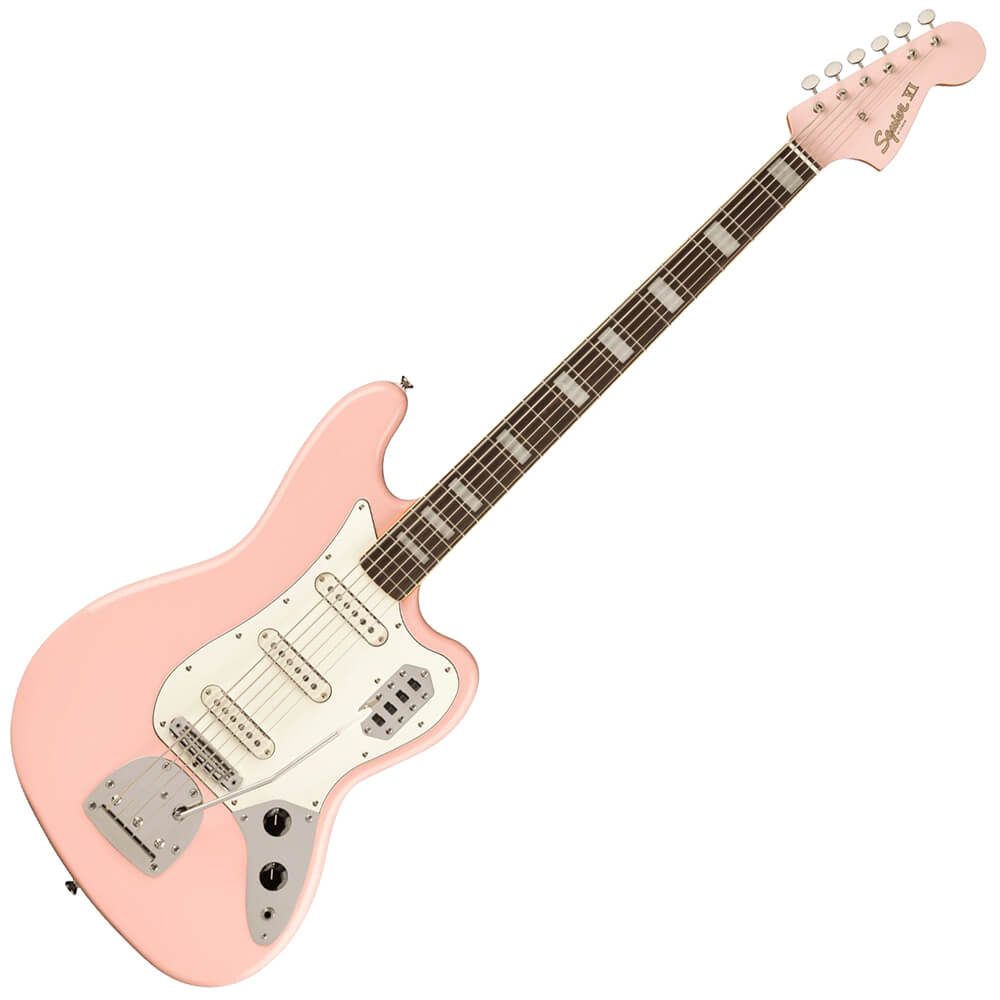 Squier Limited Edition Classic Vibe Bass VI - LRL - Shell Pink
