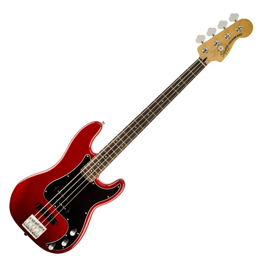 squier vintage modified precision bass pj il candy apple red rich tone music. Black Bedroom Furniture Sets. Home Design Ideas