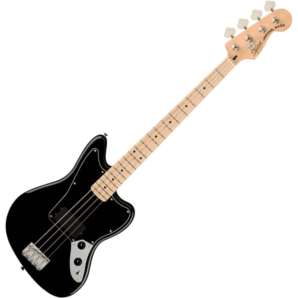 Squier Affinity Series Jaguar Bass H - MN - Black