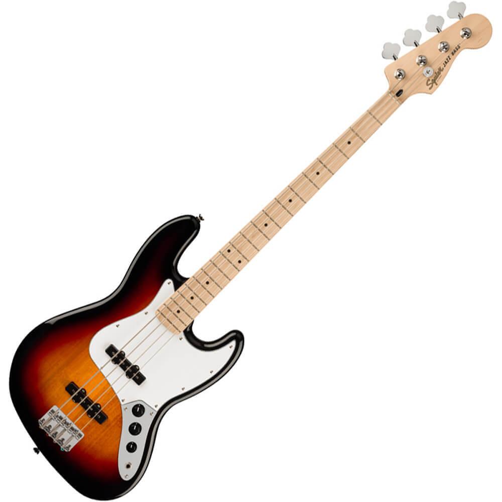 Squier Affinity Series Jazz Bass - MN - 3-Tone Sunburst