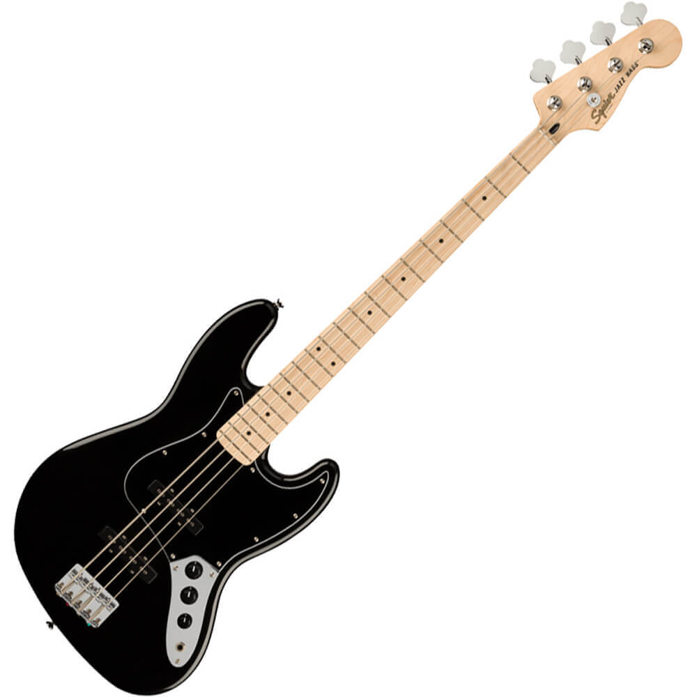 Squier Affinity Series Jazz Bass - MN - Black