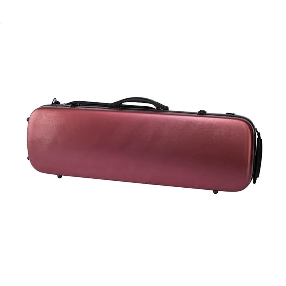 Stentor Violin Case, Polycarbonate/ABS, Oblong, Burgundy