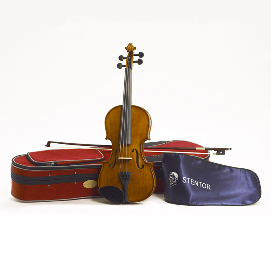 Stentor Student II Violin Outfit, 1/2 Size with Case