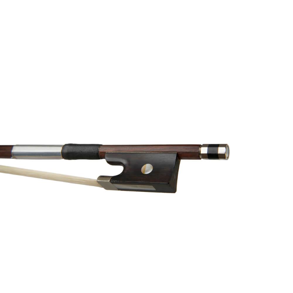 Stentor Violin Bow Strong Round Half Ebony 1/10