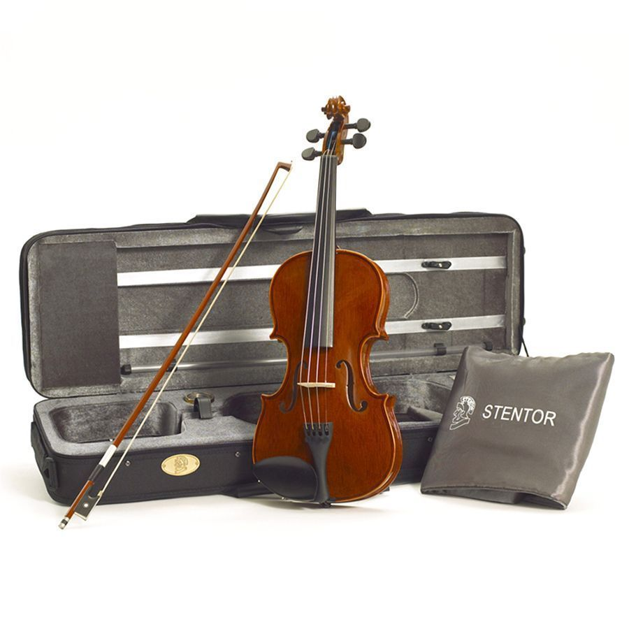 Stentor Conservatoire Violin Outfit, 4/4 Size with Case