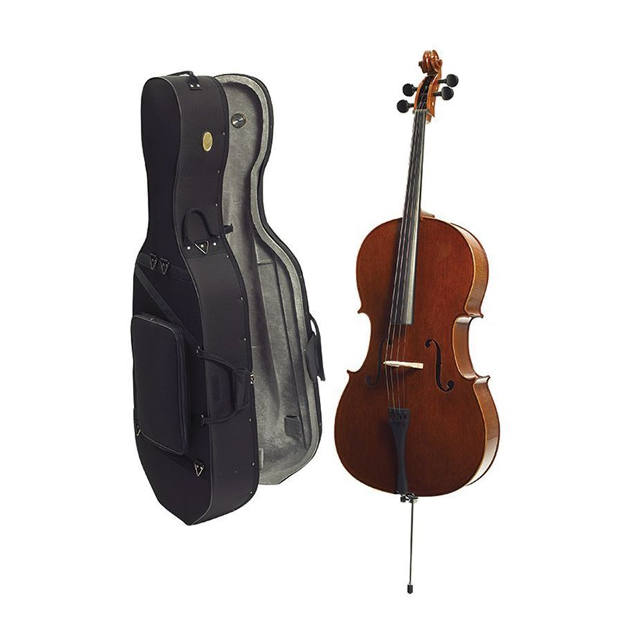 Stentor Conservatoire Cello Outfit, 4/4 Size with Case
