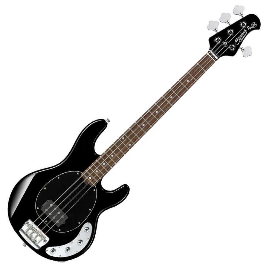 sterling by musicman ray34 bk stingray black rich tone music. Black Bedroom Furniture Sets. Home Design Ideas