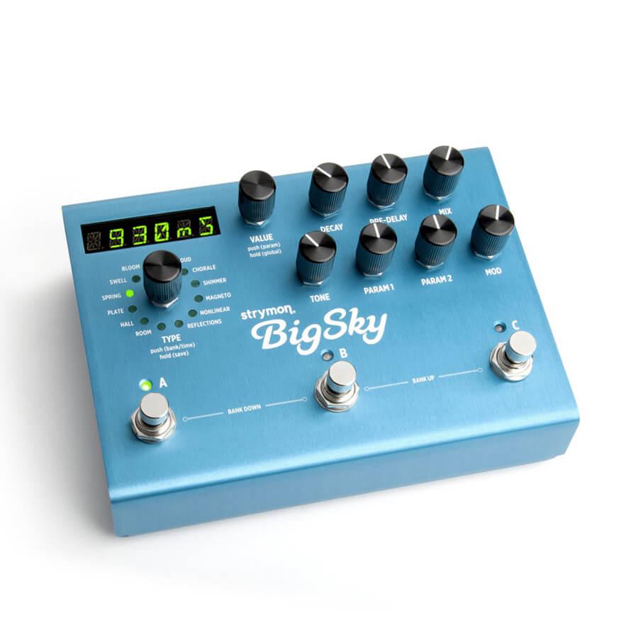 Strymon Big Sky Multi Reverb FX Pedal