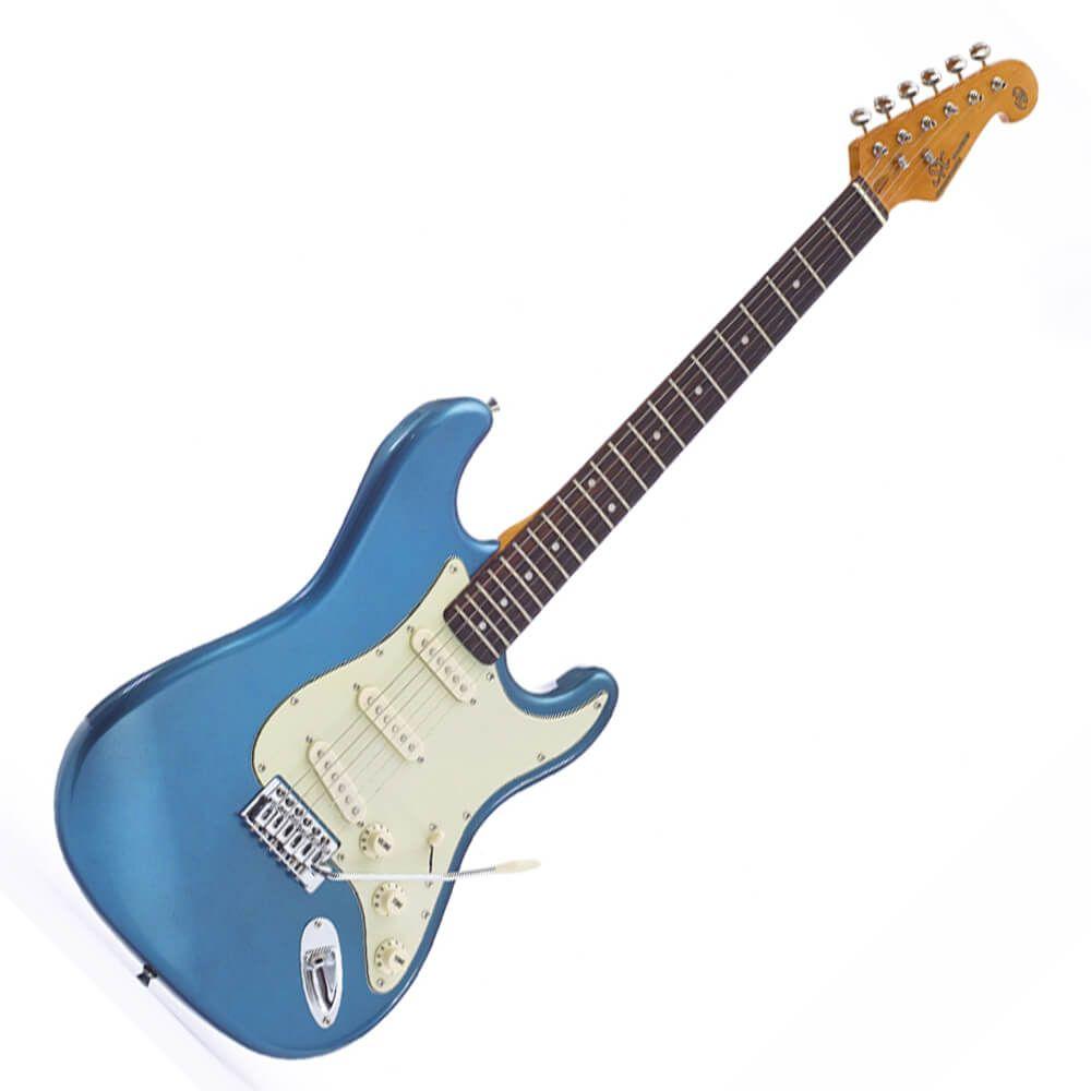 SX SST62+ Electric Guitar - Lake Placid Blue