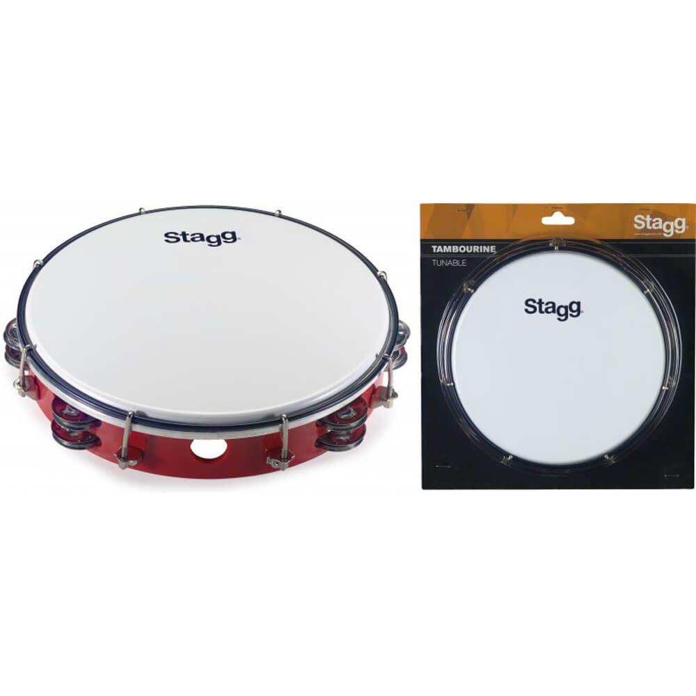 Stagg TAB3 Star Shape Tambourine Black
