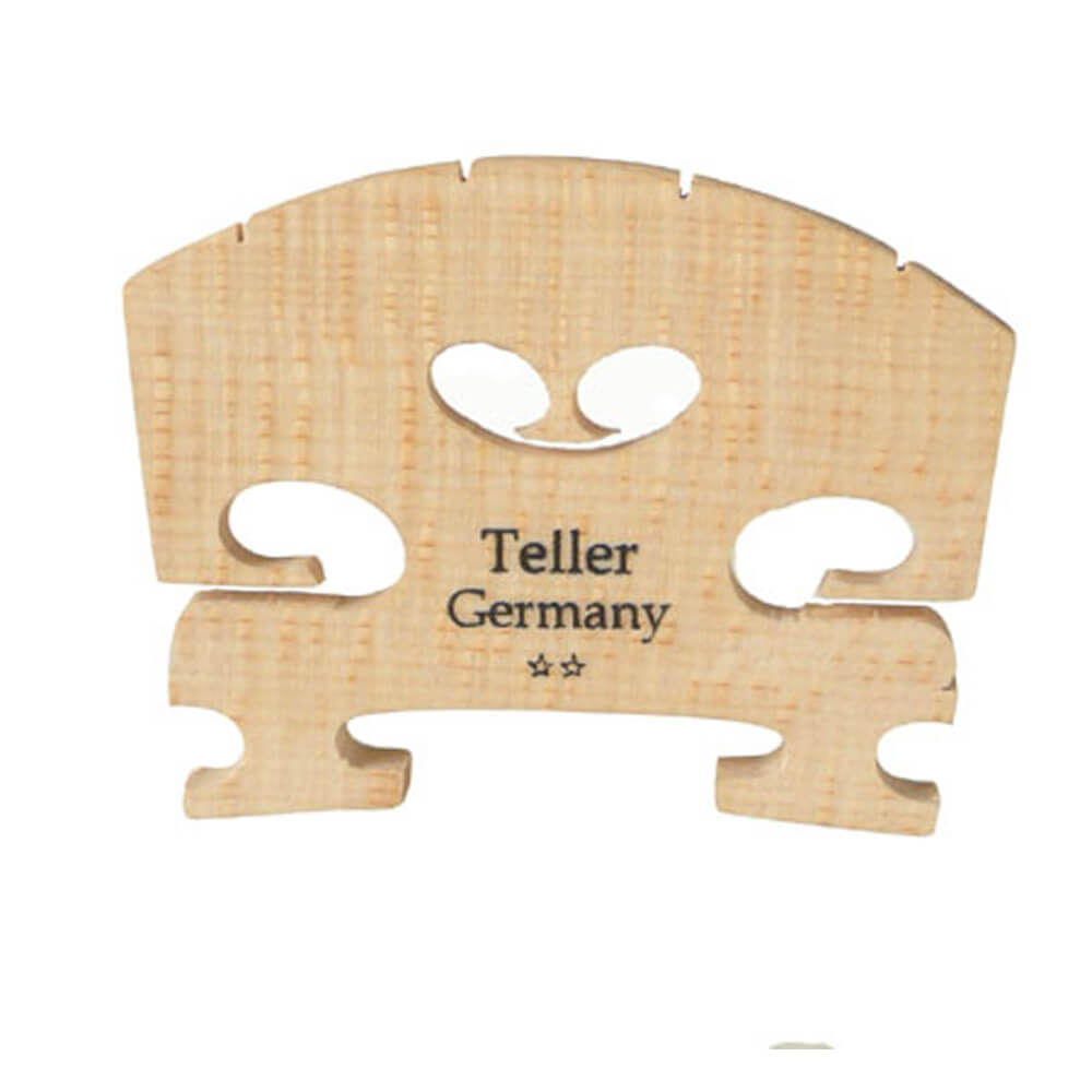 Teller Violin Bridge Fitted 1/16